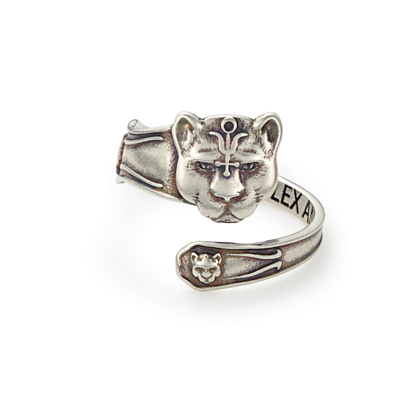 Panther Spoon Ring