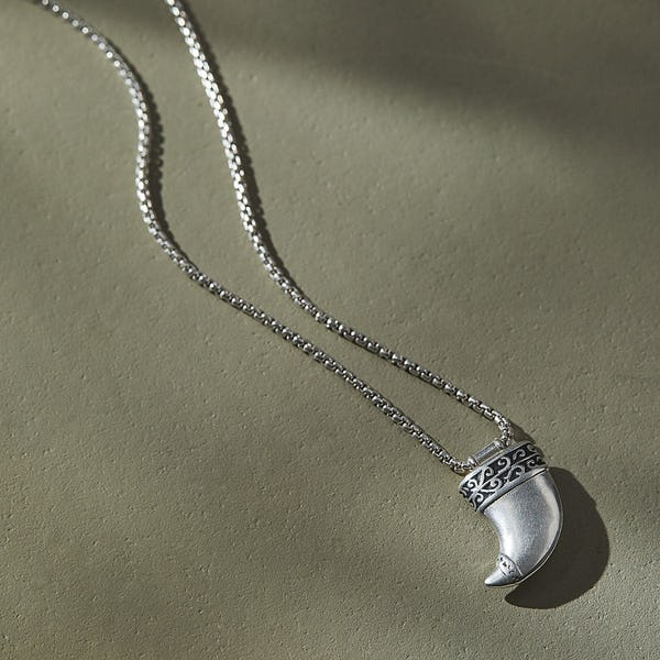 Tiger's Claw Necklace, Men's
