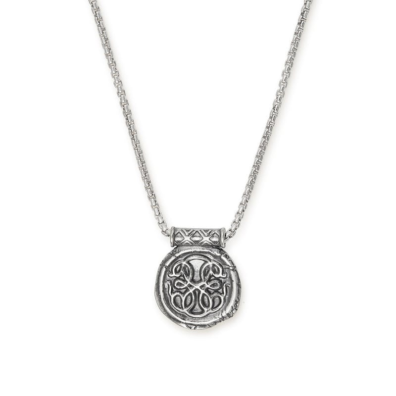 Men's Path of Life® Necklace, .925 Sterling Silver, Alex and Ani