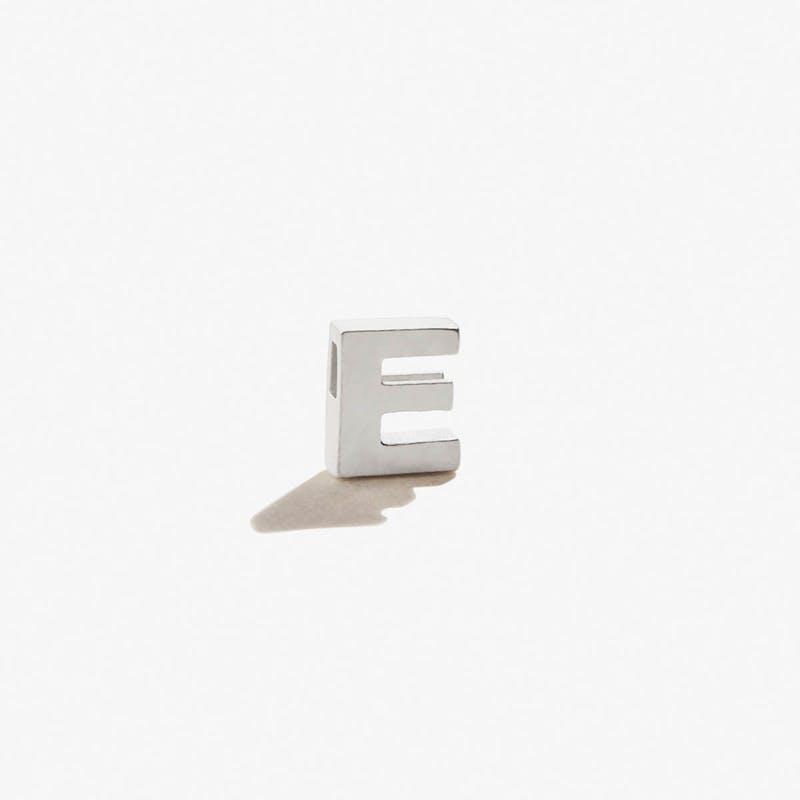 Initial E Slider Charm
