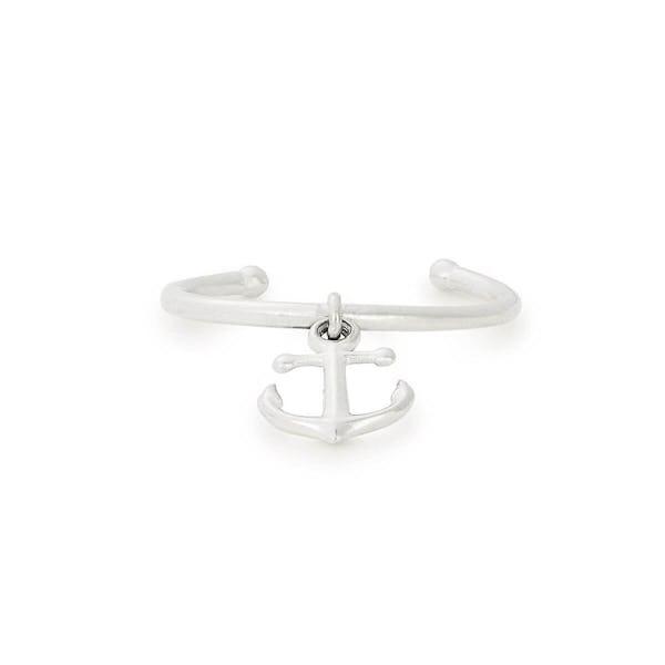 Anchor Charm Ring