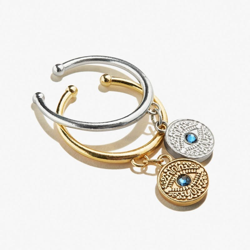 Evil Eye Charm Ring
