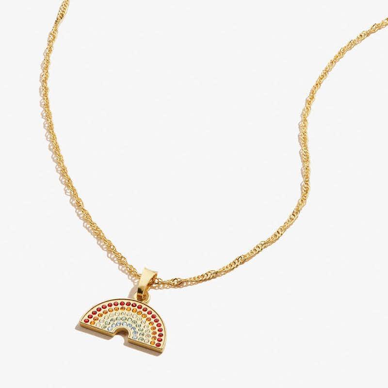 Pavé Rainbow Necklace