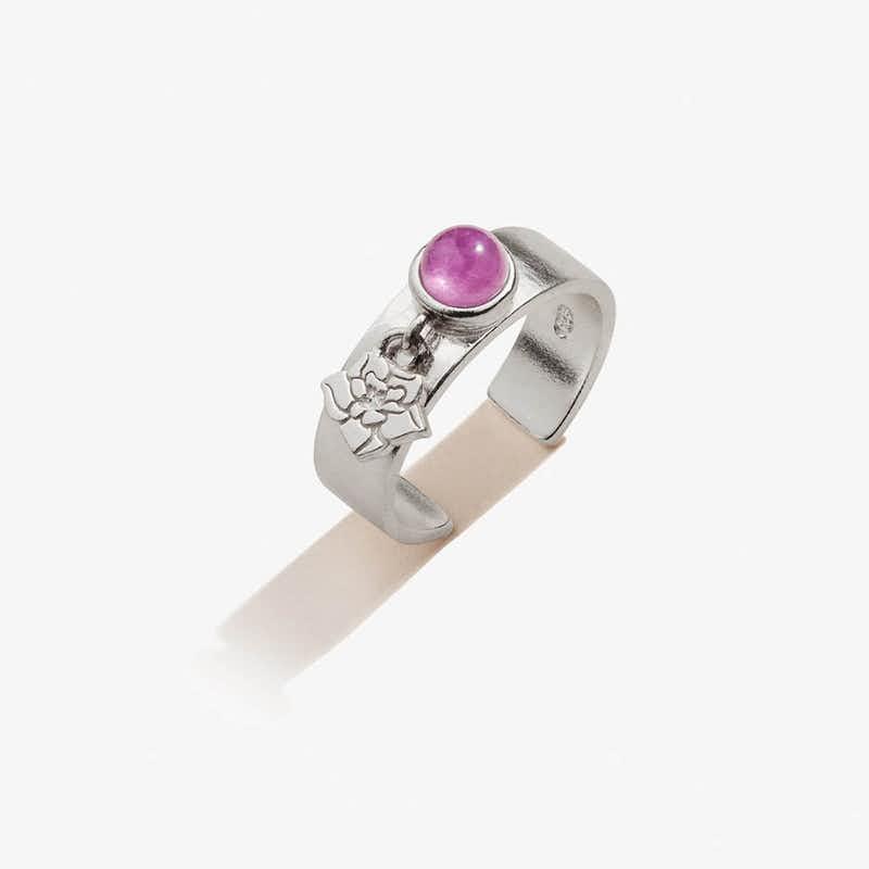 Wildflower Charm Ring