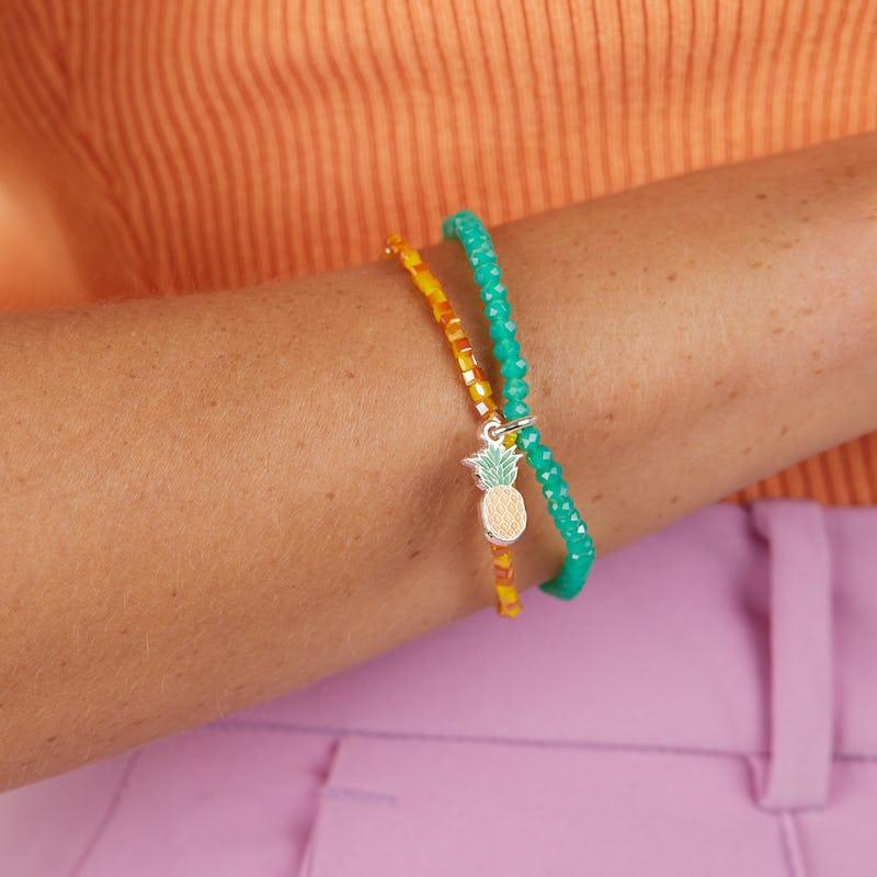Pineapple Stretch Bracelet