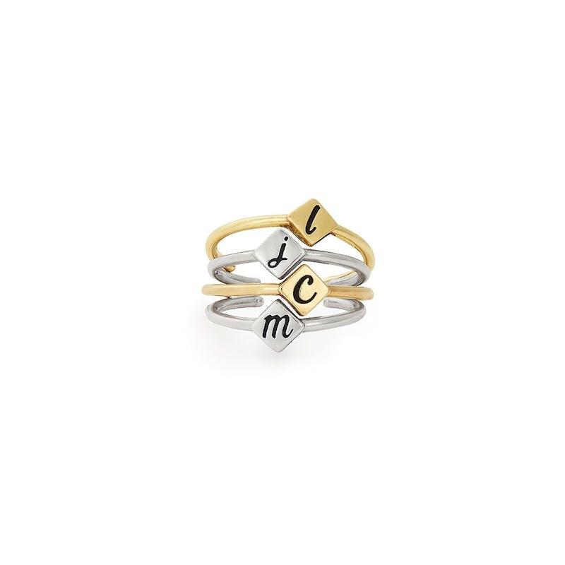 "Ampersand ""&"" Ring"