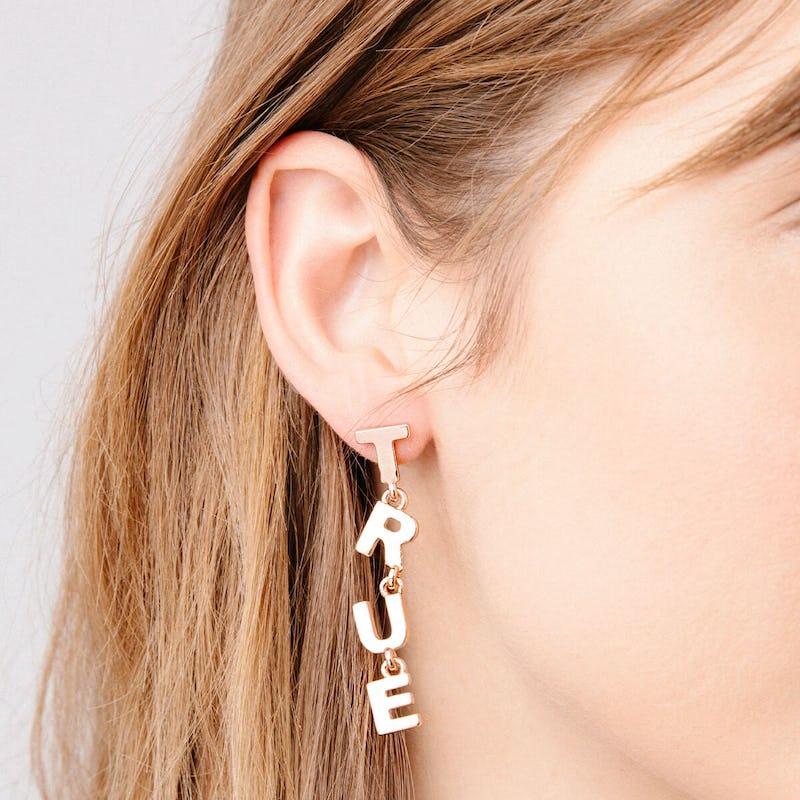 'True Love' Statement Earrings