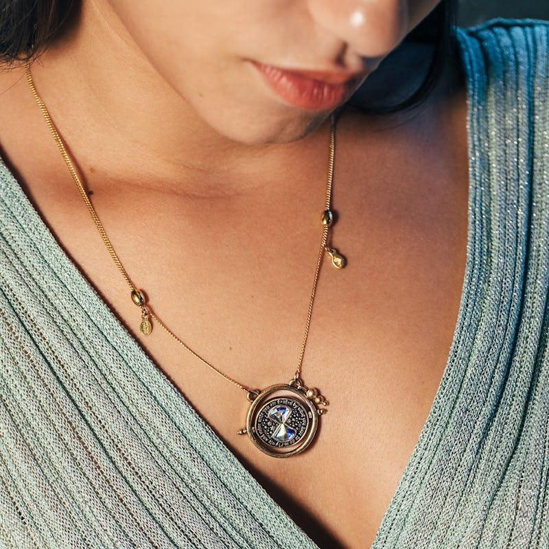 Harry Potter™ Time Turner Spinner Necklace