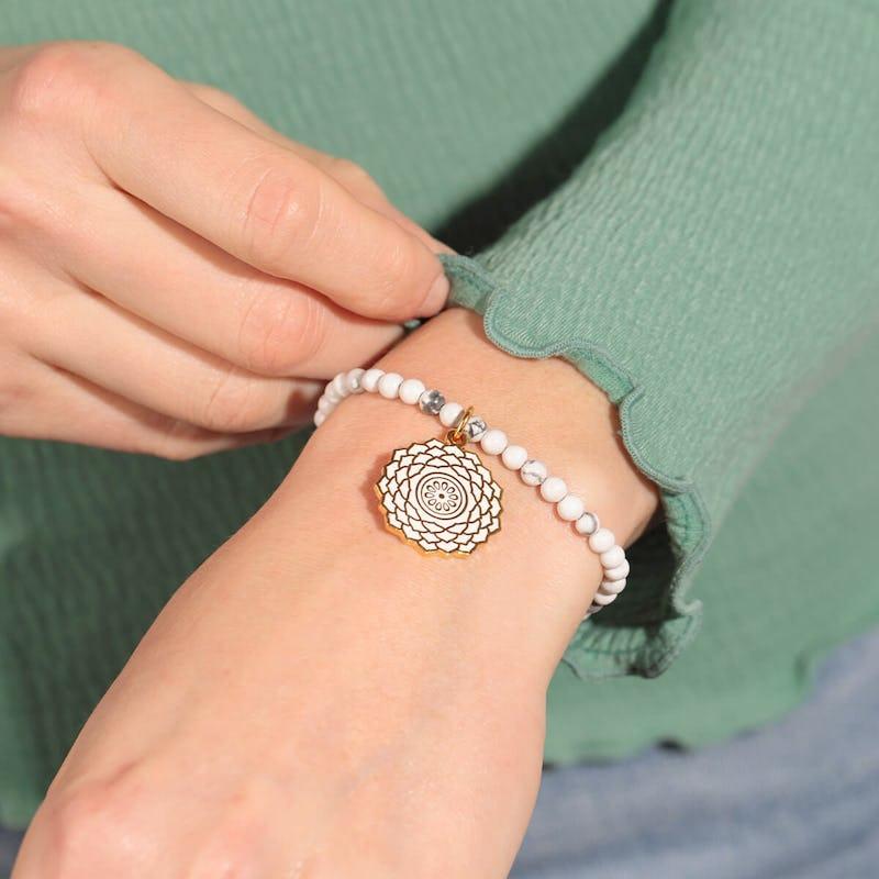 Crown Chakra Stretch Bracelet