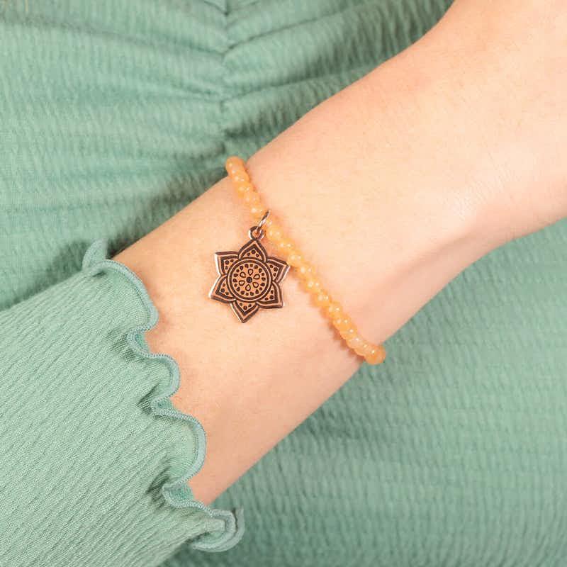 Sacral Chakra Stretch Bracelet