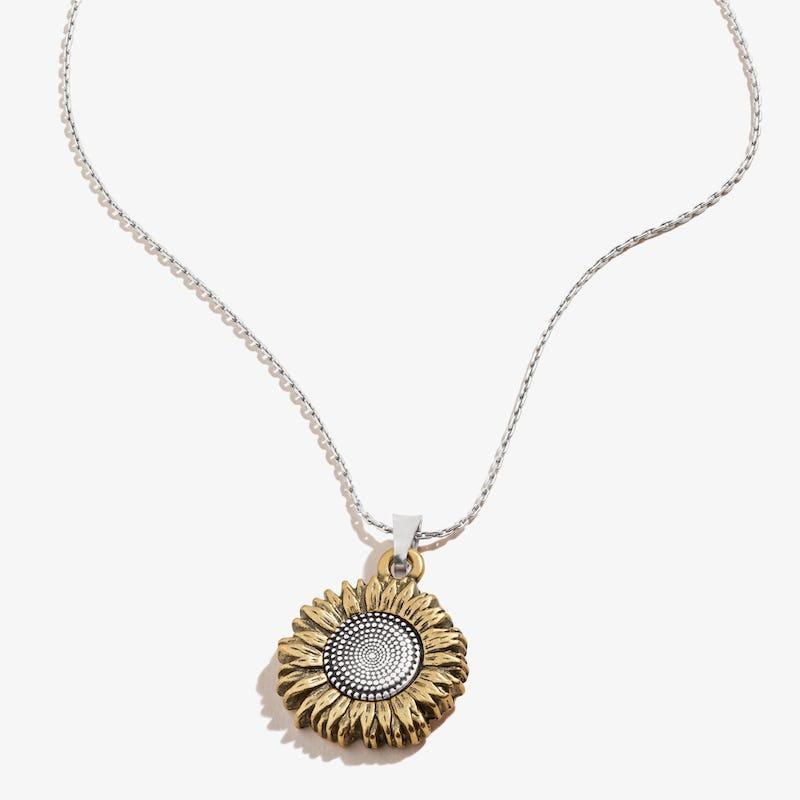 Sunflower Necklace, Expandable