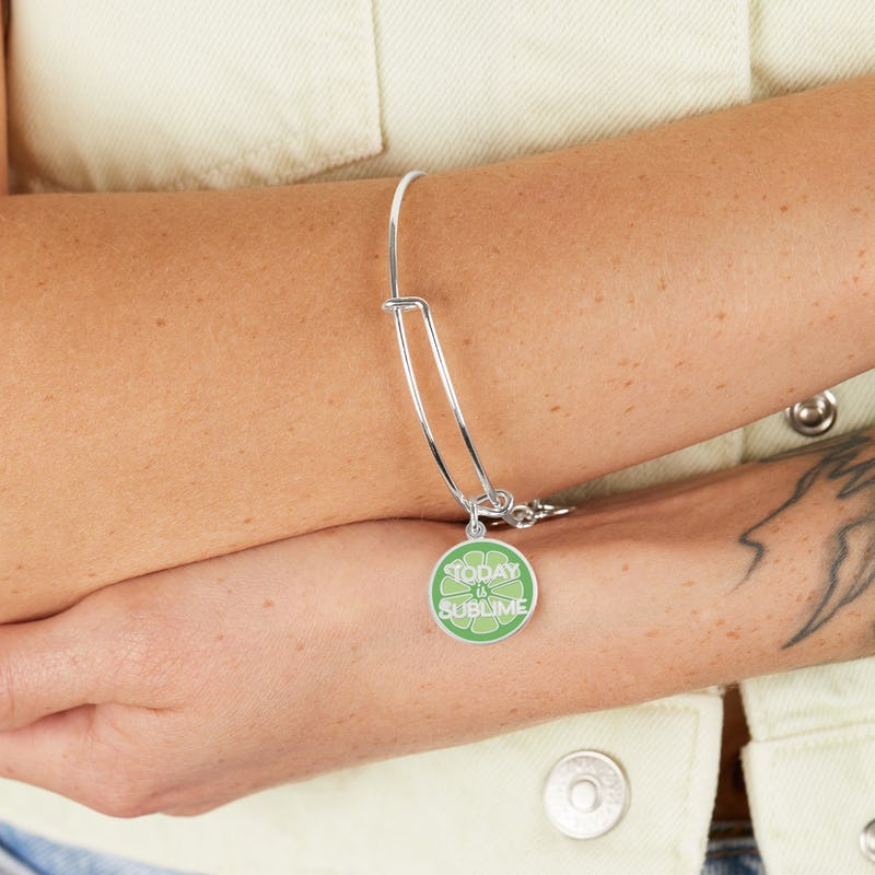 'Today is Sublime' Charm Bangle