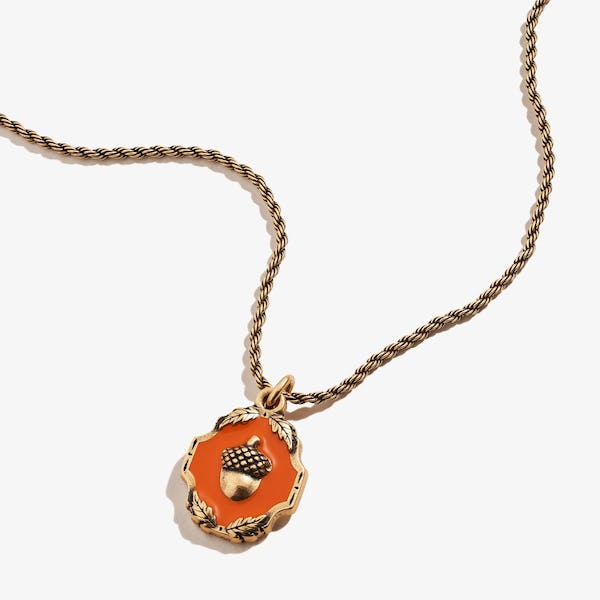 Token of Growth Acorn Charm Necklace