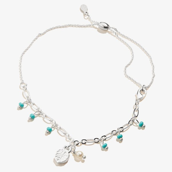 Tropical Leaf Anklet