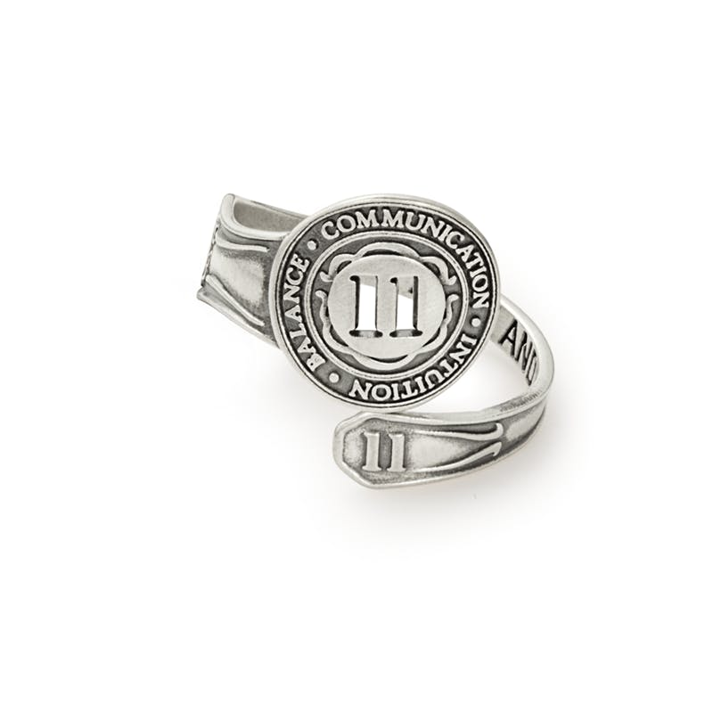 Number 11 Spoon Ring