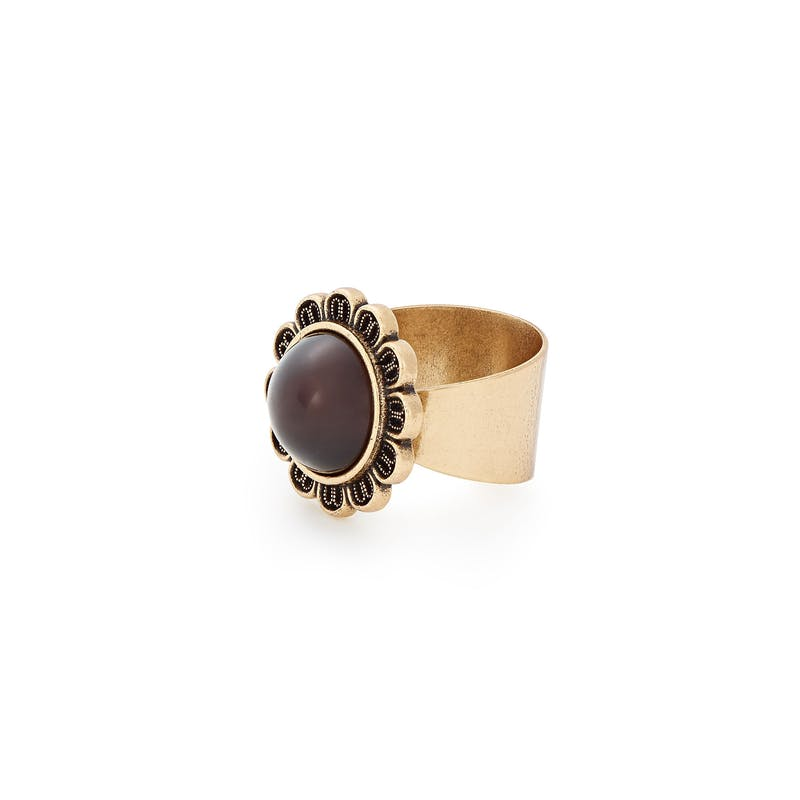 Earth Cocktail Ring