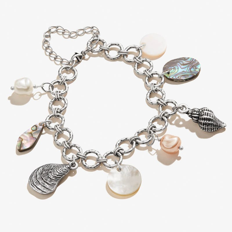 Beach Treasure Multi-Charm Bracelet
