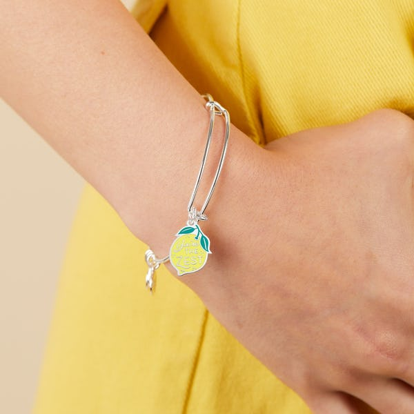 'You're the Zest' Charm Bangle
