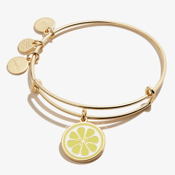 Zest for Life Lemon Charm Bangle